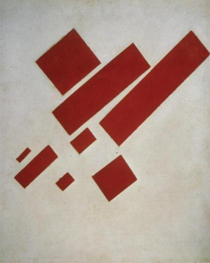 Kazimir Malevich; Suprematist Painting (Eight Red Rectangles); 1915; Stedelijk Museum, Amsterdam