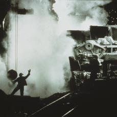 Sebastiao Salgado; Soviet Union: Worker in an Iron Plant; 1987