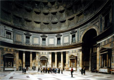 Thomas Struth; Pantheon, Rome; 1990-91; 137.2 x 194.3 cm; Saint Louis Art Musuem, Saint Louis, MO, USA