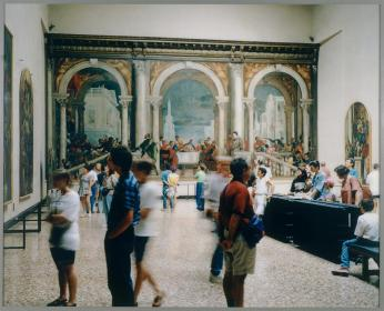 Thomas Struth; Galleria dell'Accademia 1, Venice; 1992; chromogenic print; 190.18 x 233.05 cm; San Francisco Museum of Modern Art