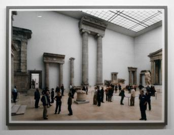 Thomas Struth; Pergamon Museum, Berlin III; 2001; c-print mounted on plexiglass; 73 x 89.25 inches