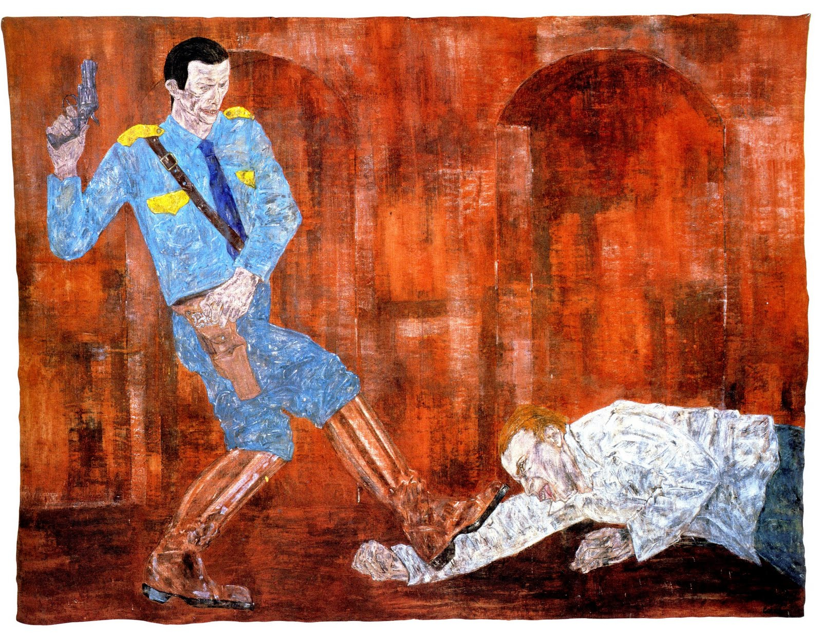 Leon Golub Histories Drawings Prints