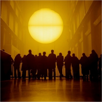 Olafur Eliasson, The Weather Project, 2003 1