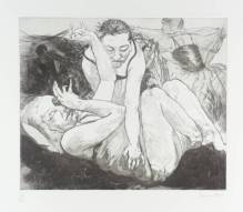 Mist III 1996 by Paula Rego born 1935