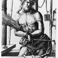 Lucas van Leyden; Man of Sorrows; 1517; engraving; 117 x 72 mm