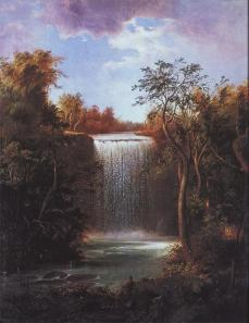 Robert S. Duncanson, Falls of Mnnehaha. 1862, oil on canvas, 28 x 26 in