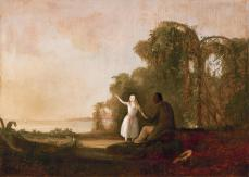 Robert Duncanson, Uncle Tom and Little Eva , 1853, Oil on canvas, 69.2 cm x 97.1 cm