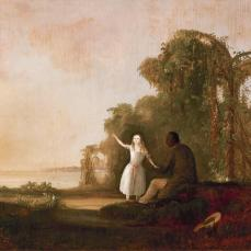 Robert Duncanson, Uncle Tom and Little Eva , 1853, Oil on canvas, 69.2 cm x 97.1 cm