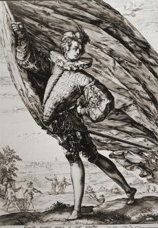 Standard-Bearer Goltzius, Hendrik, 1587
