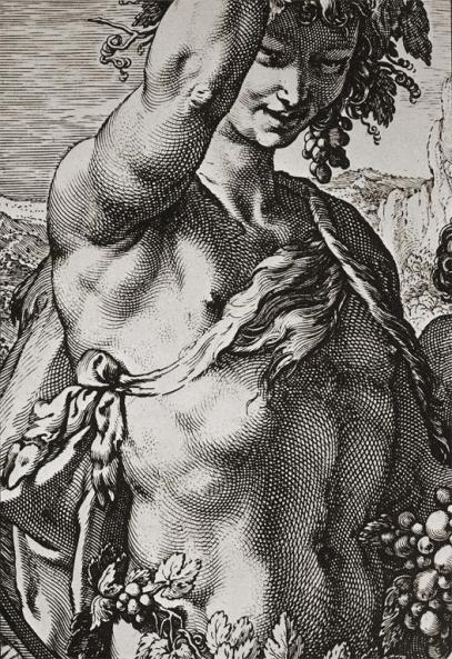 Bacchus (Detail)