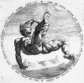 ICARUS Hendrik Goltzius 1588