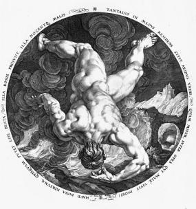 TANTALUS Hendrik Goltzius 1588