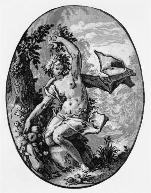 PERSEPHONE ( PROSERPINE ) Hendrik Goltzius circa 1594