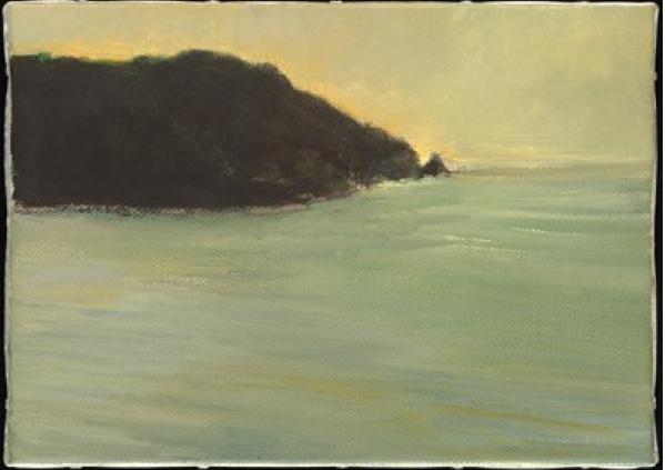 Celia Paul Arriving, 2009 oil on canvas 25.4 x 35.6 cm