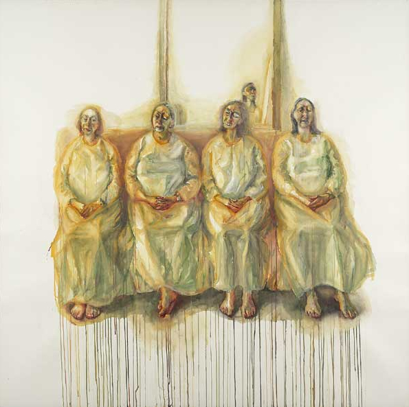 Celia Paul Five Sisters, 2009-10