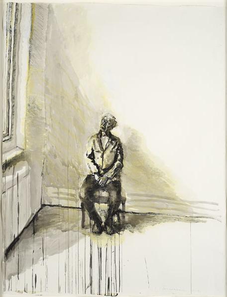 Celia Paul Steve and High Window, 2009