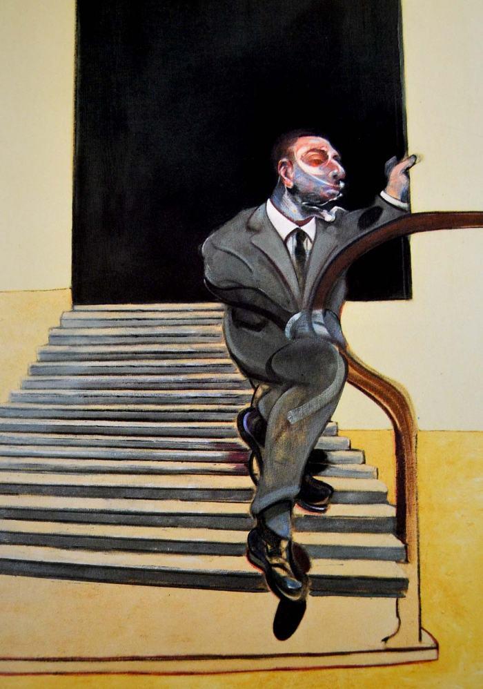 francis-bacon-bajando-escalera