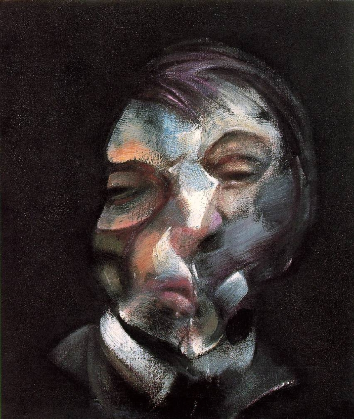 Francis Bacon, 'Self Portrait', 1971 (oil on canvas)