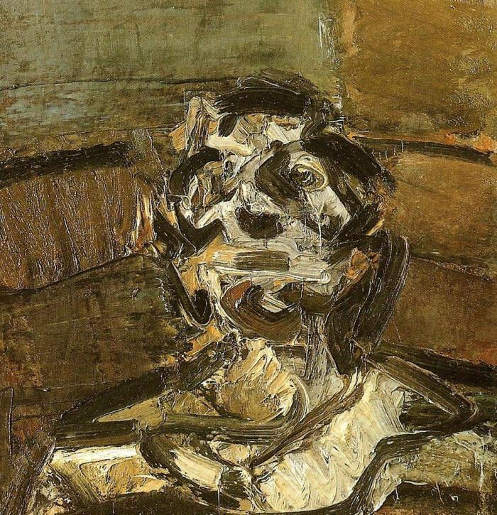 Frank Auerbach. Self-Portrait
