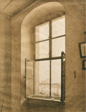 CDF, Window in Studio II, Sepia