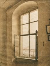 CDF, Window in Studio II, Sepia