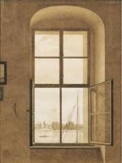 CDF, Window in Studio, Sepia