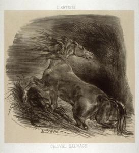 Delacroix frightenedhorse