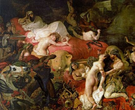 Delacroix's Death of Sardanapalus