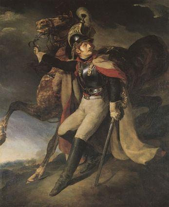 Gericault_Theodore_1814_Verwundeter_Kuerassier_verlaesst_das_Schlachtfeld