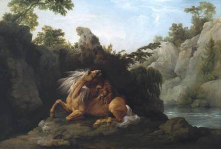 Horse Devoured by a Lion
