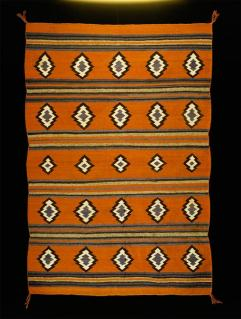 Navajo, Chinle revival? rug, Early Modern Period, c.1925-1940, Wool; Dye, 182 cm x 125 cm x 0.3 cm