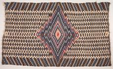 New Mexico, Rio Grande, 19th Century Culture, Serape, c. 1860, tapestry weave: wool, 197.4cm x 118.1cm