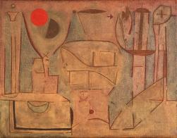 Fragmente (Fragments) Work Type painting Date 1937 Material oil on burlap Measurements 21 3/4 in. x 28 1/4 in. (55.25 cm x 71.76 cm)