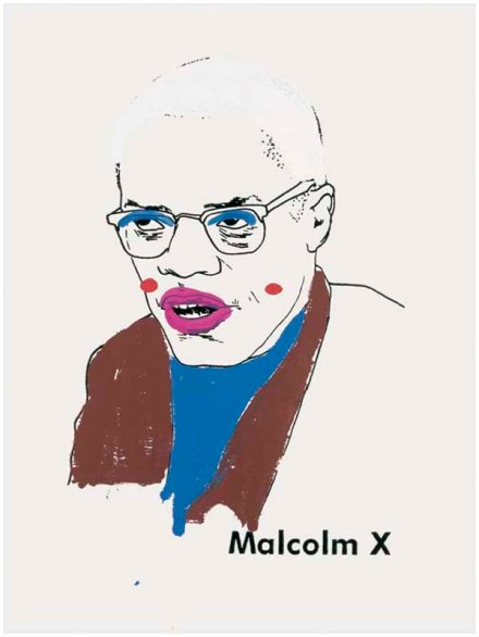 Glen Ligon_Malcolm, version+1_2000