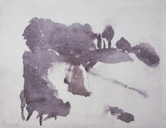 Giorgio Morandi, watercolor, 1959.