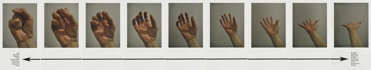 Adrian Piper, Mokshammudra Progression, 2012