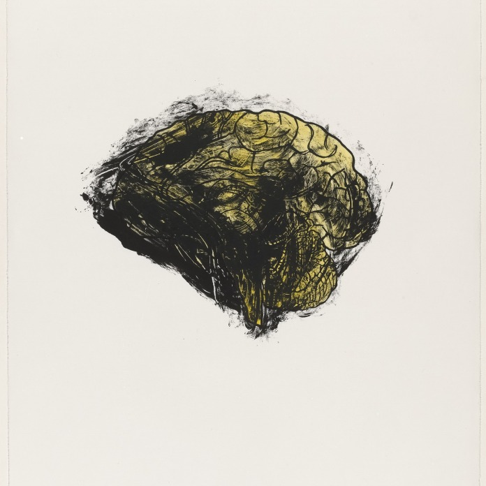 Kiki Smith, Brain from Possession Is Nine-Tenths of the Law, 1985