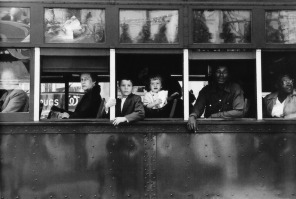 Americans 18. Trolley — New Orleans, 1955.
